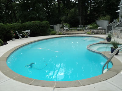 Pool Tile And Coping Replacement