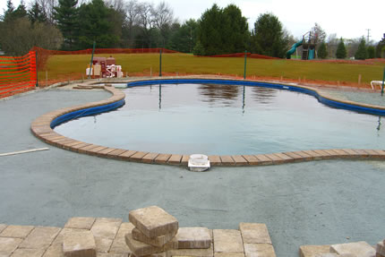 Vinyl Liner Inground Pool Construction By S Amp R Pools
